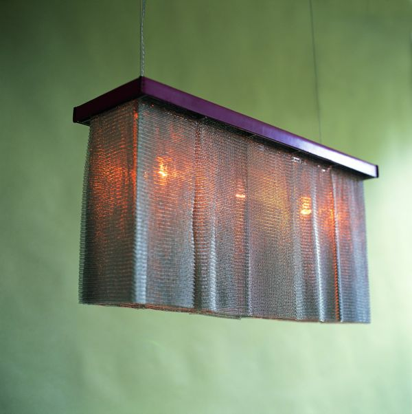 Chainmail Chandelier Rectangular 1