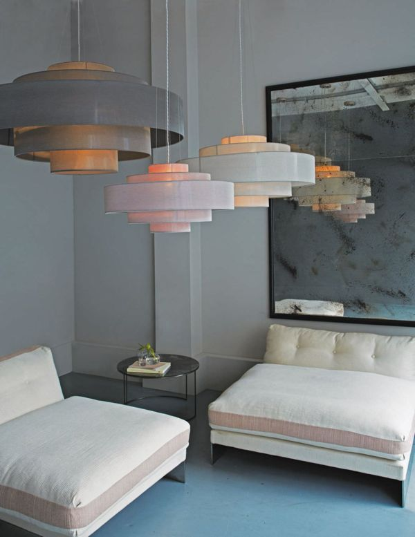 Cloud Shade Chandelier 1