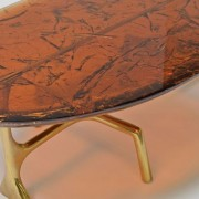 Uovo Ice Resin Cocktail Table