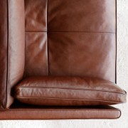 High Back Lounge Chair by BassamFellows Close Up