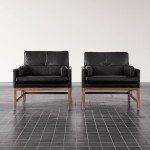 Low Back Lounge Chair by BassamFellows