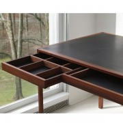 Leather Desk by BassamFellows
