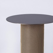Armour Side Table Bronze Top