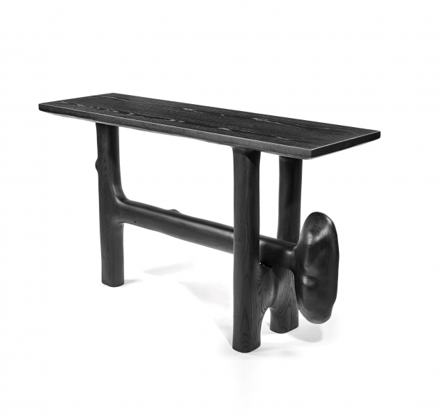 0045 Sculptural Console Table by Casey McCafferty