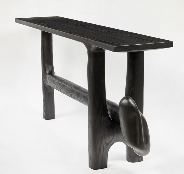 0046 Sculptural Console Table by Casey McCafferty