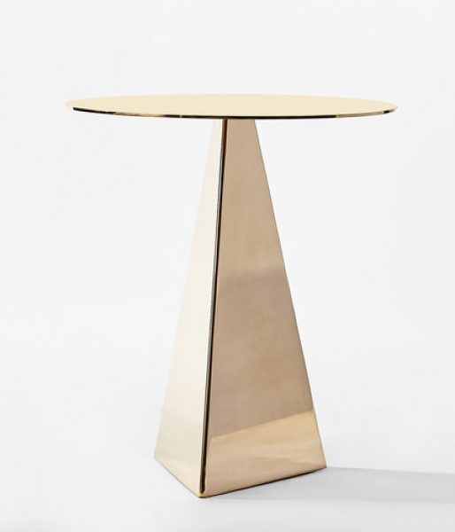 Triangle Side Table by konekt