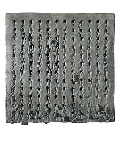 Wood Fired Nail Tiles (Black) by Richard Carter