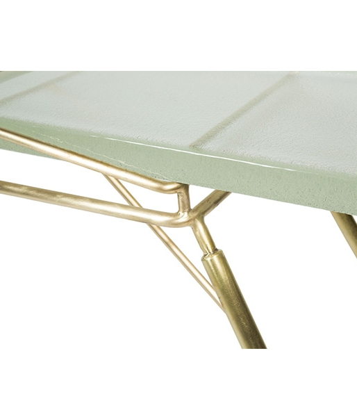 Mantis Console Table in Brass by John Liston