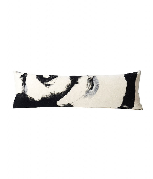 Abstract Wool Body Pillow
