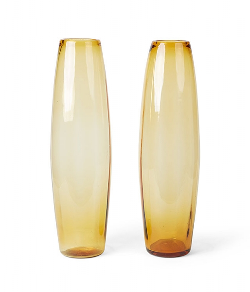 Pair of Ambra Vases