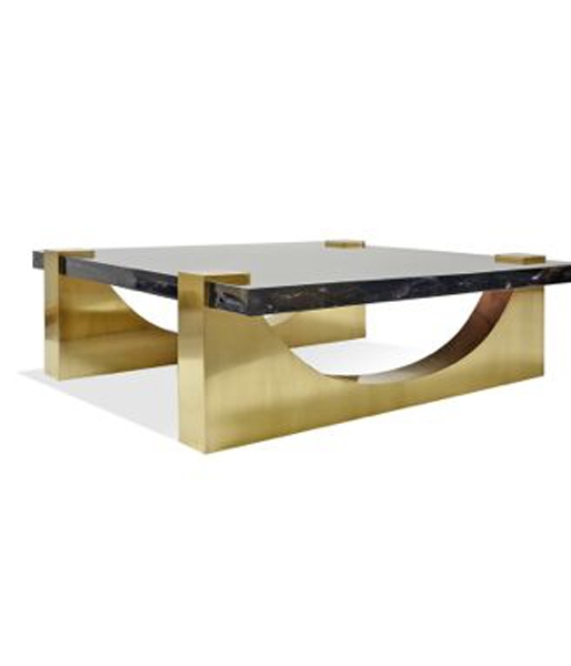 Aqueduct Ice Resin Cocktail Table