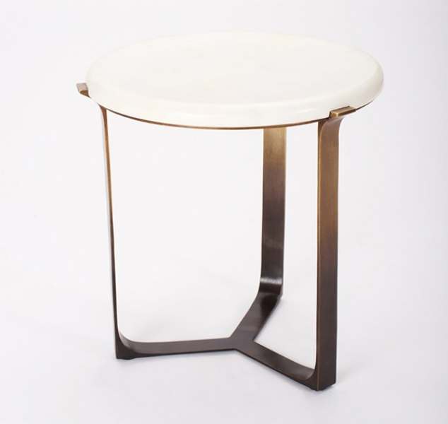 Arch Round Side Table by Elan Atelier