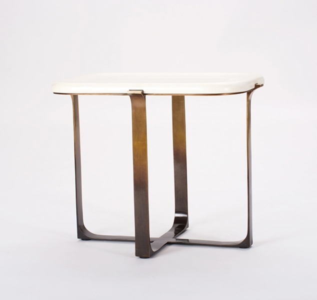 Arch Square Side Table by Elan Atelier
