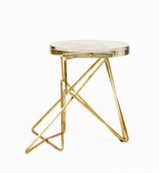 Architect's Stool: Brass