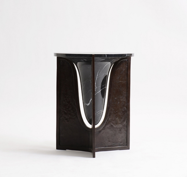 Baltoro Side Table by Elan Atelier