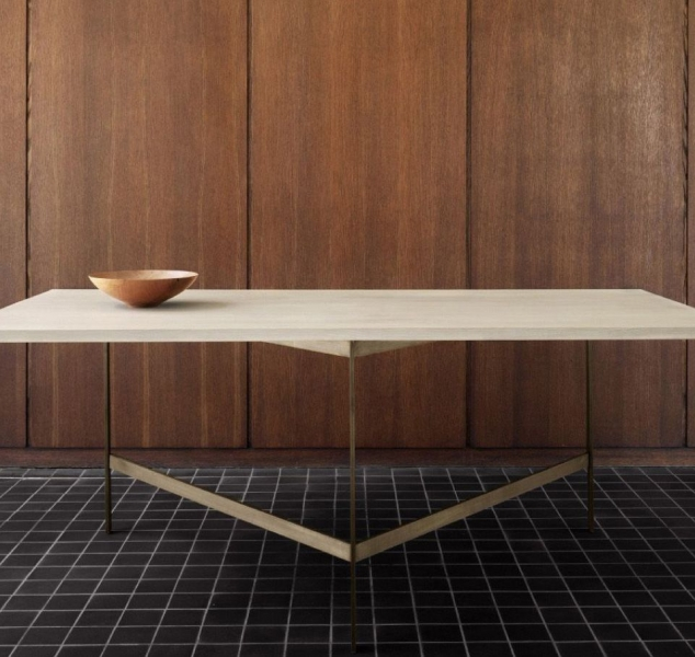 Plank Dining Table by BassamFellows