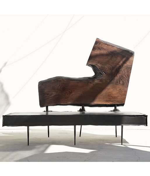 Bison Bench by Harry Siter
