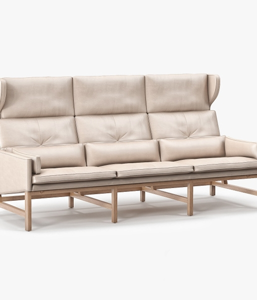 Wing Back Sofa by BassamFellows