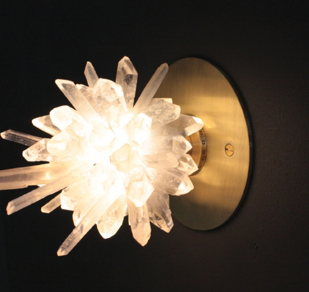 Sugar Bomb Sconce 1912 by Christopher Boots