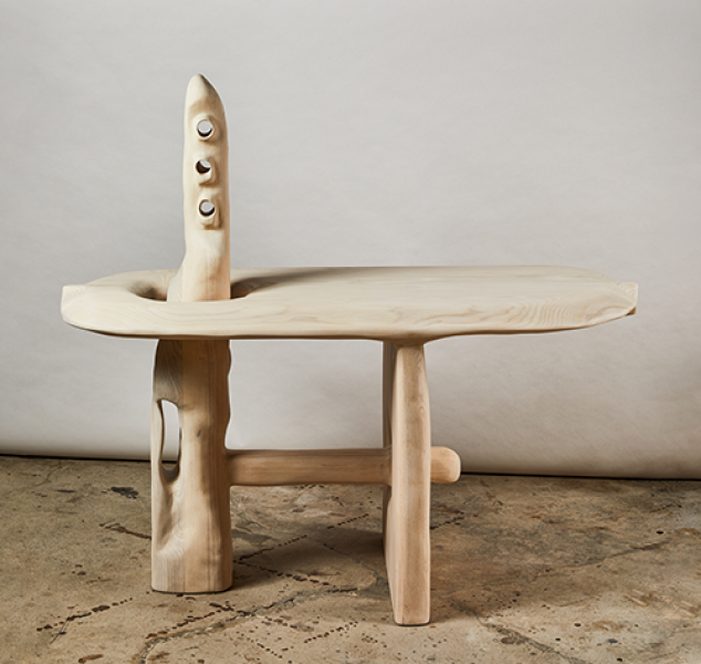 Hello World Console Table by Casey McCafferty
