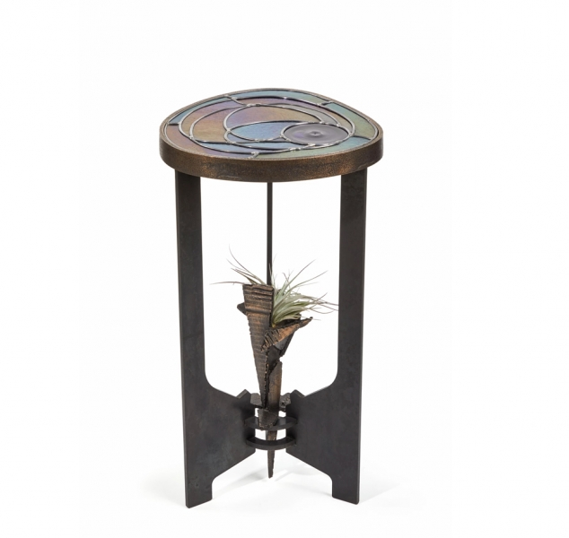 Irid Drink Table by Chuck Moffit