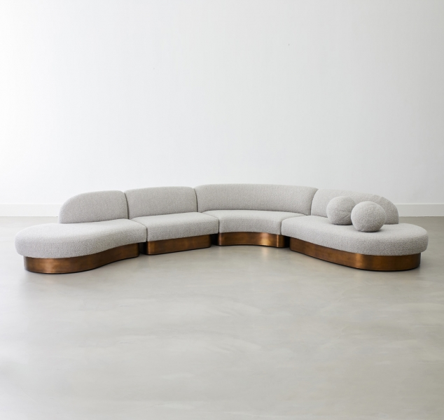 Biomorphic Sectional by COUP STUDIO