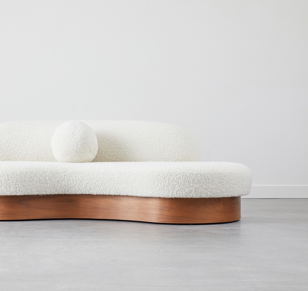 Biomorphic Sofa by COUP STUDIO