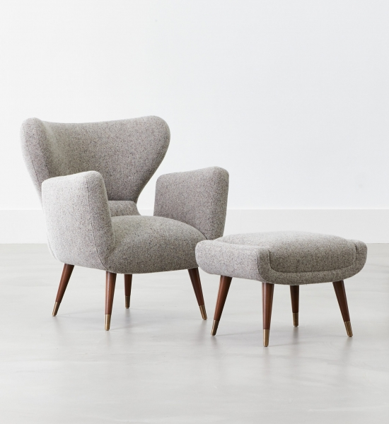 Italian Club Chair by COUP STUDIO