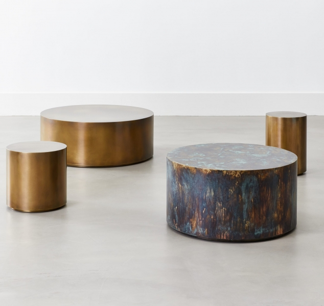 Snare Tables by COUP STUDIO
