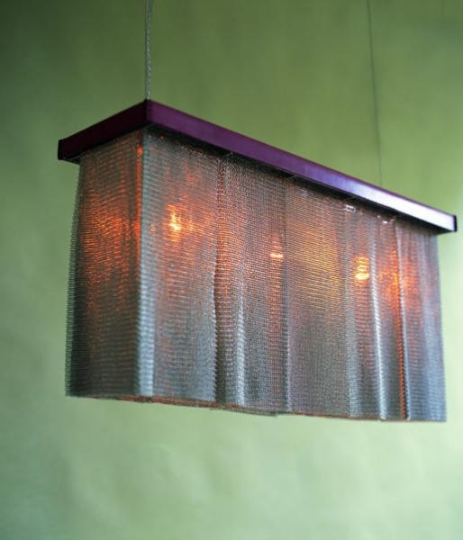 Chainmail Chandelier Rectangular