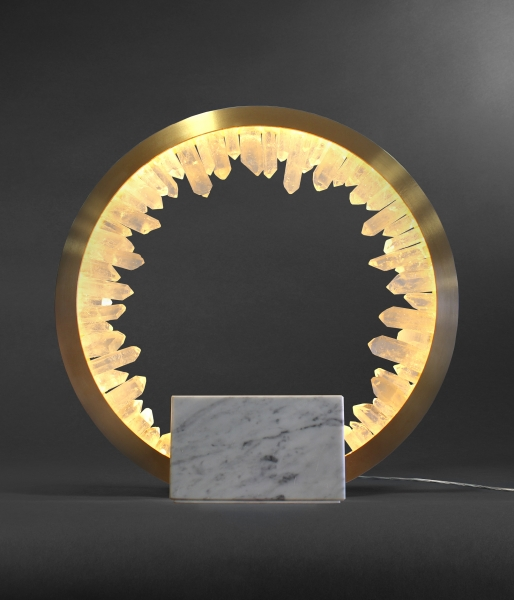 Prometheus IV – Table Lamp by Christopher Boots