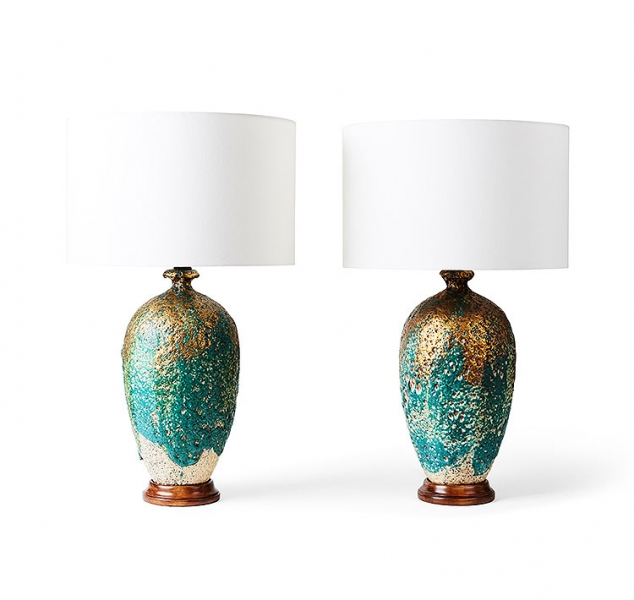 Pair of Terra Table Lamps