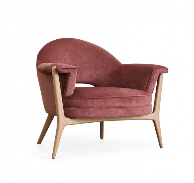 Cloven Chair, Rose by COUP STUDIO