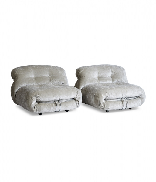 Pair of Soriana Lounge Chairs