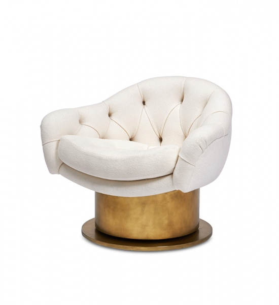 Turn Around Swivel Club Chair by Coup Studio