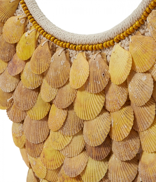 Danau Shell Necklace (Large) – Yellow