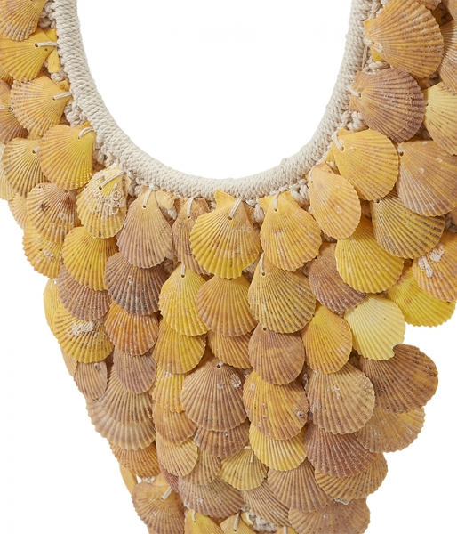 Danau Shell Necklace (Medium) – Yellow