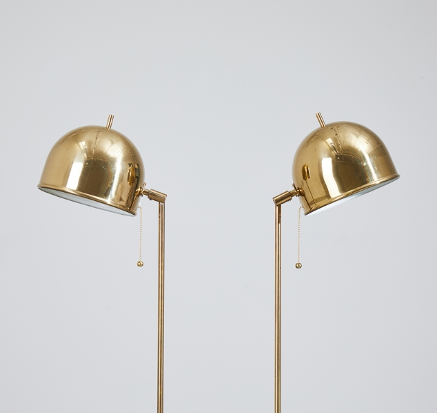 Pair of G-075 Floor Lamps by Bergboms