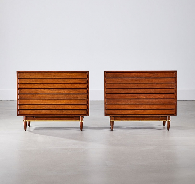 Pair of Parker Chests by American of Martinsville