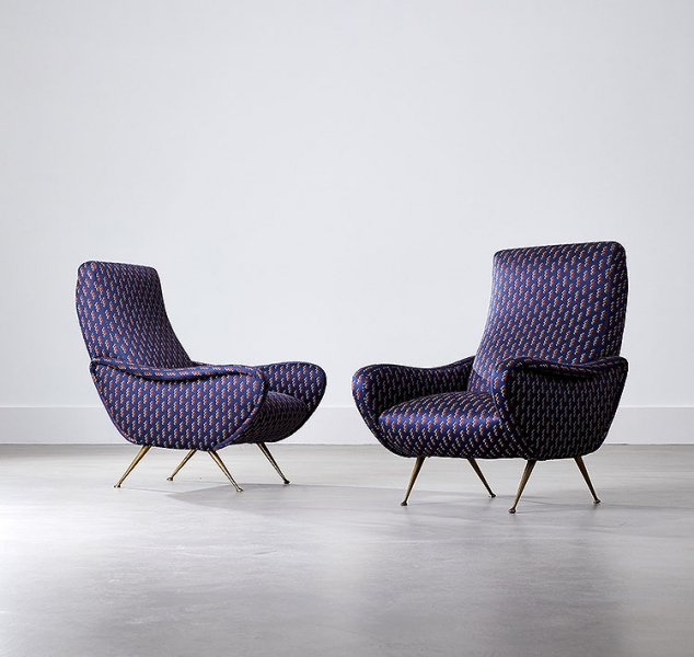 Pair of Zac Club Chairs