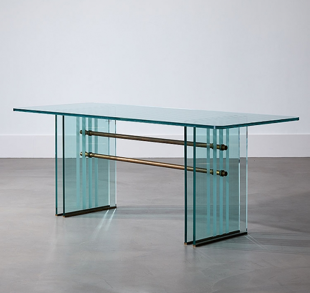 Zoccolo Dining Table by Fontana Arte