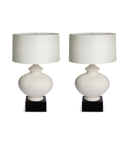 Pair of Blanche Lamps