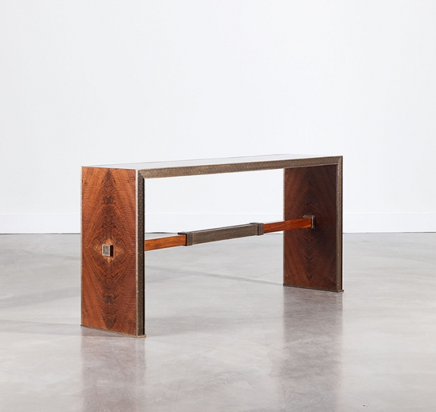 Axle Console Table by Damian Jones