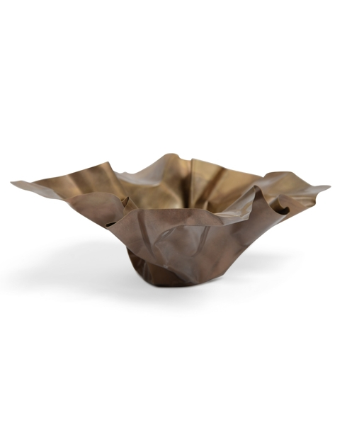 Paper 1 Bowl – Brass by Gentner