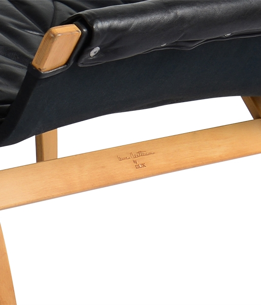 Pernilla Lounge Chair and Ottoman by Bruno Mathsson