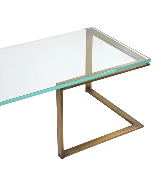 Floating Cocktail Table by Milo Baughman for  ayer Coggin