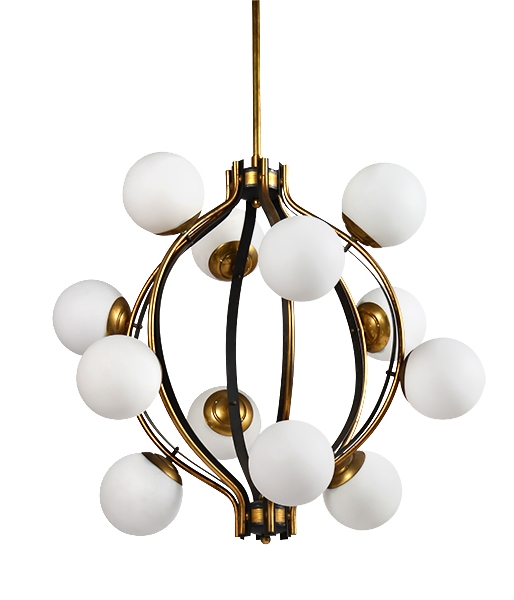 Sole Chandelier by Stilnovo