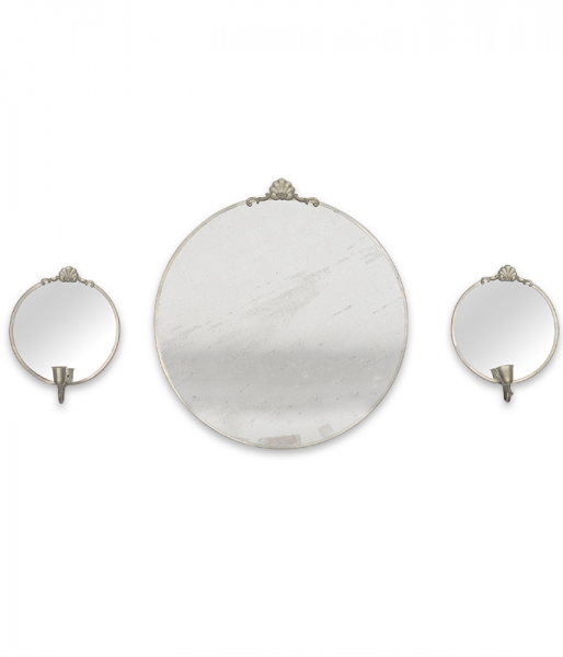 Set of Cinnabar Mirrors