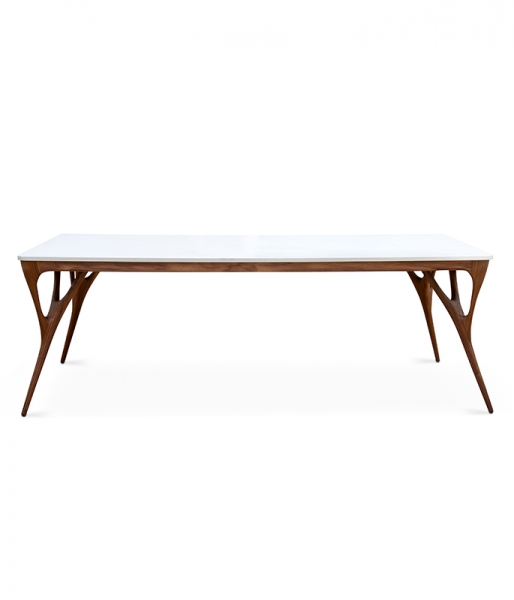 Nadia Dining Table / Calacatta Top – 86
