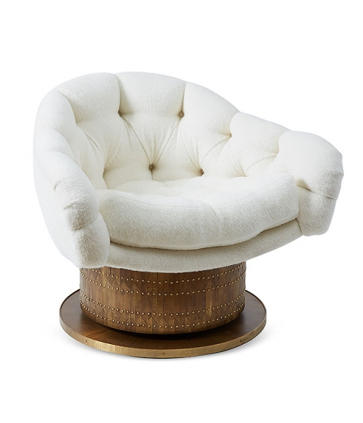 Turn Around Swivel Club Chair by Damian Jones